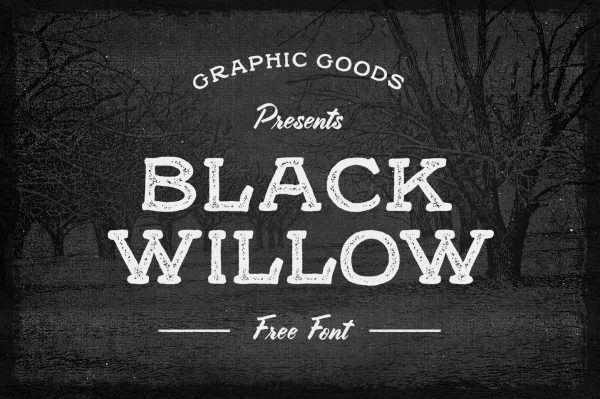 Black Willow Free Font 01