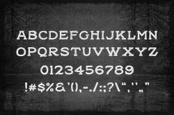 Black Willow Free Font 04