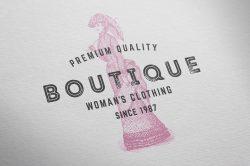 Ladies' Fashion – Vintage Engraving Illustrations 08