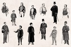 Men's Fashion – Vintage Engraving Illustrations 02