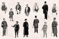 Men's Fashion – Vintage Engraving Illustrations 02