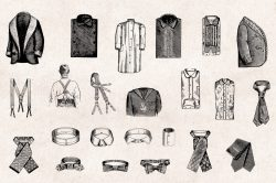 Men's Fashion – Vintage Engraving Illustrations 05