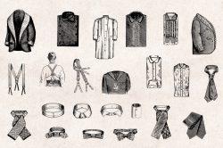 Men's Fashion – Vintage Engraving Illustrations 05