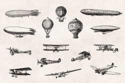 Transportation – Vintage Engraving Illustrations 04