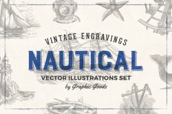 Vintage Nautical Illustrations 01