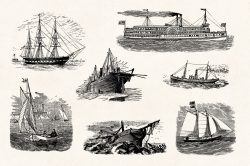 Vintage Nautical Illustrations 05
