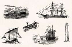 Vintage Nautical Illustrations 06