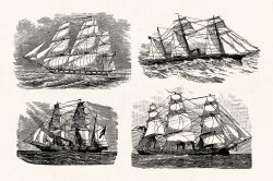 Vintage Nautical Illustrations 07