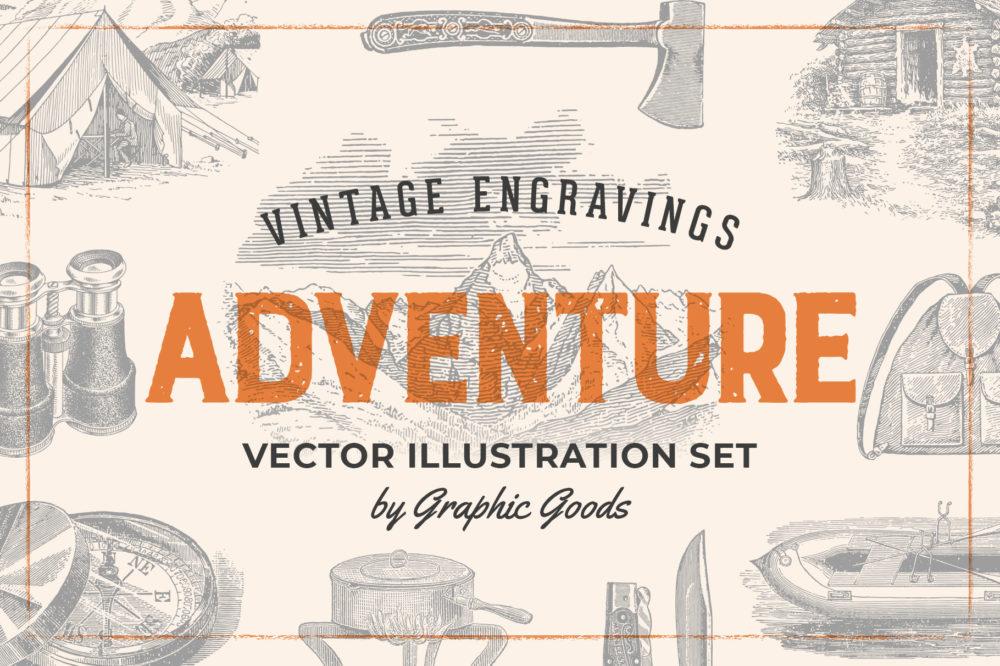Adventure – Vintage Engraving Illustrations 01