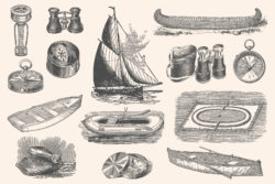 Adventure – Vintage Engraving Illustrations 09