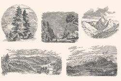 Adventure – Vintage Engraving Illustrations 11