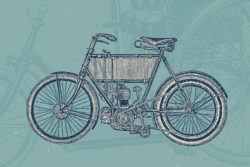 Bicycles – Vintage Illustration Set by Graphic Goods 02