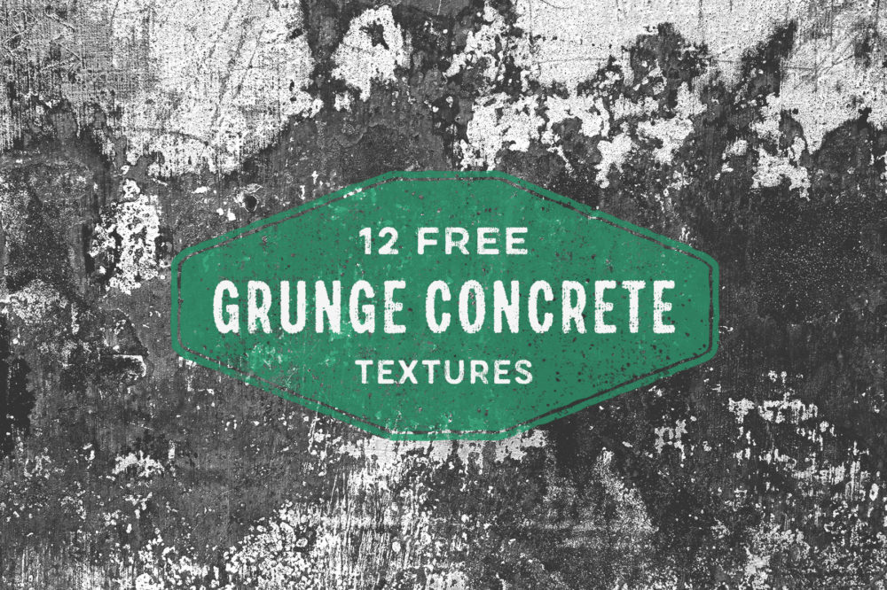 Grunge Concrete – Free Texture Pack by Graphic Goods 01