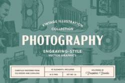Photography – Vintage Illustration Set