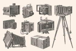 Photography Vintage Illustration Set 005