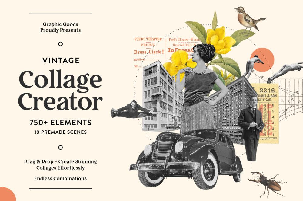 Vintage Collage Creator 01b