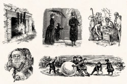 Winter Holidays – Vintage Engraving Illustration Set by Graphic Goods 03