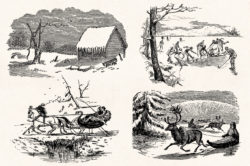 Winter Holidays – Vintage Engraving Illustration Set by Graphic Goods 08