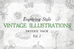Free Vintage Illustrations Vol. 1